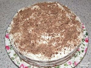 Бисквит со взбитыми сливками - фото шаг 3