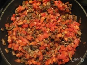 Картофельный рулет с овощами - фото шаг 4
