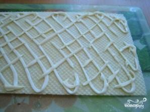 Закусочный торт из вафельных коржей - фото шаг 2
