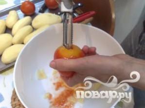 Фаршированные помидоры и картофель - фото шаг 6