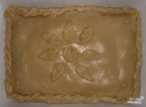 Дрожжевой пирог с курицей и картошкой - фото шаг 3
