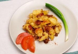Жареная картошка с беконом - фото шаг 4
