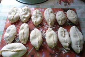 Пирожки с грибами солеными - фото шаг 3
