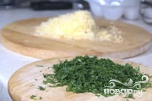 Сырный кекс с укропом - фото шаг 3