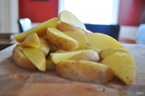 Картофель с капустой в духовке - фото шаг 3