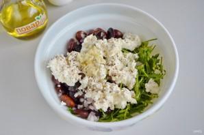 Салат из красной фасоли с творожным сыром - фото шаг 3