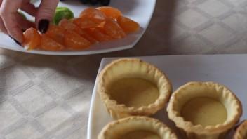 Корзиночки с фруктами и желе - фото шаг 8