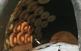 Тандырные лепешки - фото шаг 3