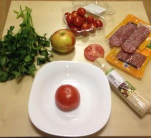 Елочка из мяса - фото шаг 3