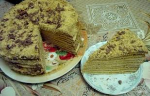 """Торт """"Медовик шифоновый"""" - фото шаг 10"""