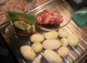 Беляши с мясом в духовке - фото шаг 2