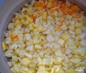 Салат с бобами на зиму - фото шаг 3