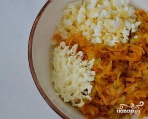 Печеночные блины с морковкой - фото шаг 3