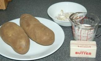 Чесночное картофельное пюре  - фото шаг 1