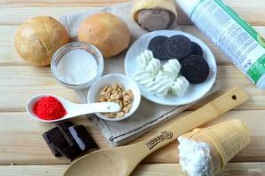 Королевский бургер с мороженым - фото шаг 1