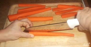 Морковь в фольге - фото шаг 2