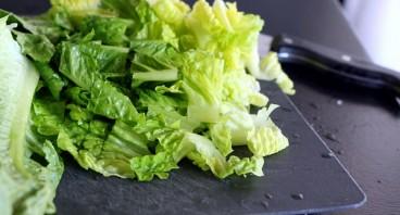 Салат с авокадо и грушей - фото шаг 3