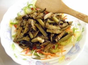 Закуска из баклажана с овощами - фото шаг 6