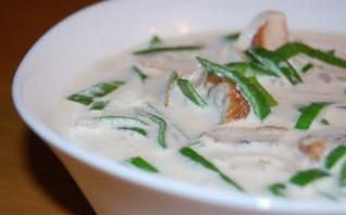 Сливочный суп с угрем - фото шаг 5