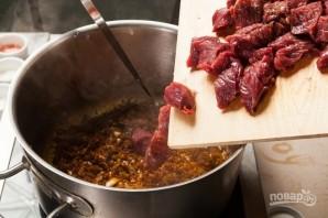 Гуляш венгерский из говядины - фото шаг 4