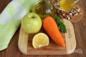 Салат из моркови и яблока - фото шаг 1