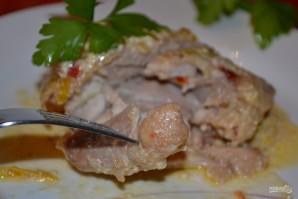 Тушеные куриные бедрышки - фото шаг 10