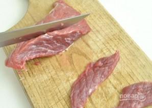 Салат с говядиной - фото шаг 1