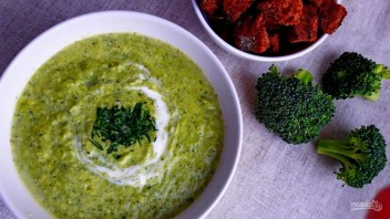 Вкусный суп из брокколи - фото шаг 5
