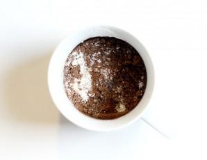 Кекс в чашке в микроволновке  - фото шаг 1