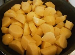 Картофельный соус с курицей - фото шаг 3