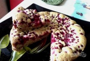 Пирог с красной смородиной - фото шаг 6
