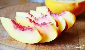 Персиковый торт-суфле - фото шаг 5