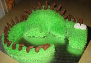 "Торт ""Дракон"" - фото шаг 7"