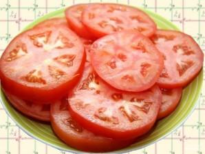 Баклажаны с помидорами в духовке - фото шаг 4
