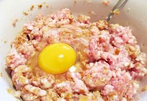 Зразы с сыром и яйцом - фото шаг 3