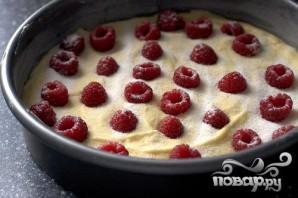 Пирог с малиной и пахтой - фото шаг 3