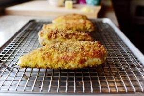 Куриная грудка в хрустящей панировке с сыром - фото шаг 7