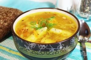 Картофельный суп с галушками - фото шаг 9