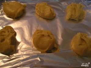 Заварное тесто с творогом - фото шаг 4