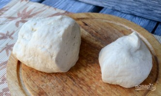 Пирог с брусникой из дрожжевого теста - фото шаг 8