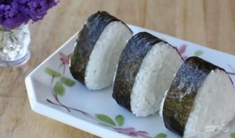"""Японский бутерброд """"Онигири"""" - фото шаг 6"""