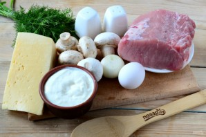 Рулетики мясные к праздничному столу - фото шаг 1