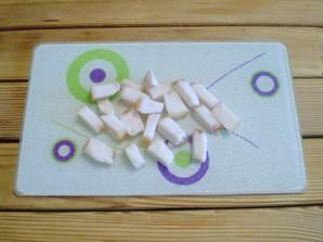Картошка с салом на сковороде - фото шаг 2