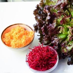 Овощные рулетики - фото шаг 1