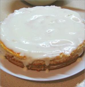 Торт на сметане простой - фото шаг 5