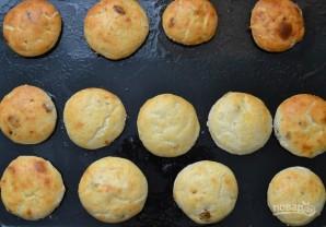 Сырники с изюмом и лимоном - фото шаг 7