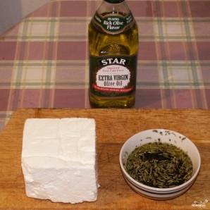 Салат с маслинами - фото шаг 2