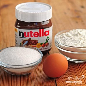 Печенье из крема Nutella - фото шаг 1