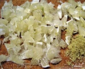 Айвовое варенье с лимоном   - фото шаг 4