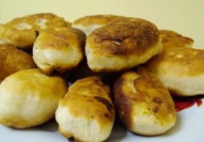 Пирожки на кефире с творогом - фото шаг 5